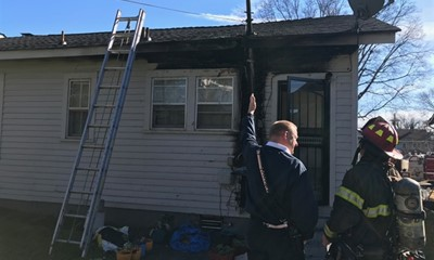 Break in Wire Believed to be Cause of House Fire in Knoxville