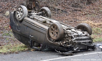 Rollover with Ejection in Coal Twp. Sends Two to Hospital