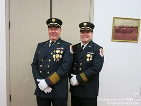 South Bergen Mutual Aid Coordinator Chief Ron Phillips & son Ron Jr.