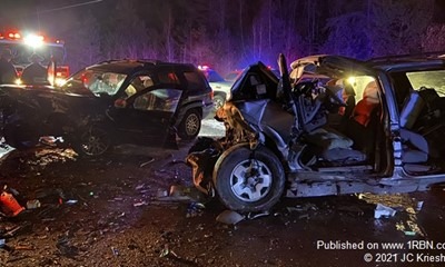 Two extricated from serious Black Creek crash