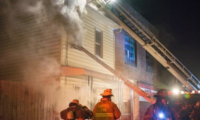 Five displaced by Shenandoah fire