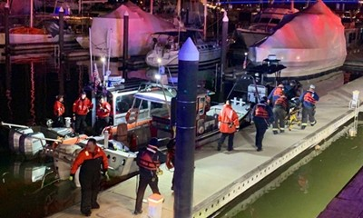 Man Rescued from Washington Channel in Critical Condition