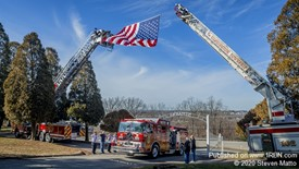 Funeral service for Station 54 firefighter Chris Matisko