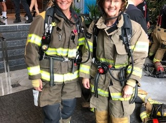 St. Marys FD Participates in 2020 American Lung Association Fight for Air Climb