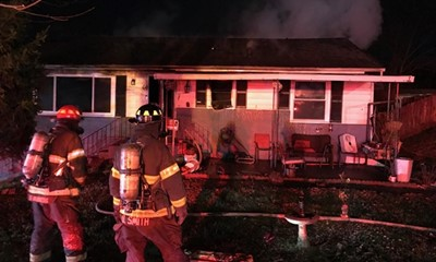 Neighbors Call in Knoxville House Fire