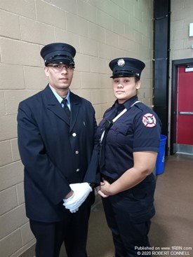Paterson FF Johanna Ramirez & brother