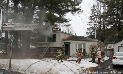 First-Alarm House Fire in Nashua
