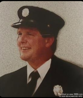 Firefighter Mark Heeley