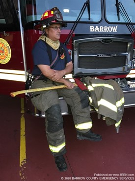 Lt. Blair Darst Retires After 38 Years of Fire Service