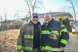 Mastic FD Steve J and His Son Anthony.