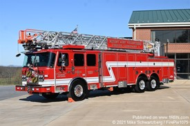 Mt. Airy Volunteer Fire Company New Truck 1