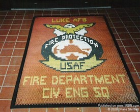 1980 at Luke AFB Fire Department