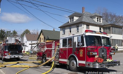 Laconia Firefighters Rescue Trapped Occupant