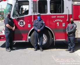 East Orange Ladder 1 Crew