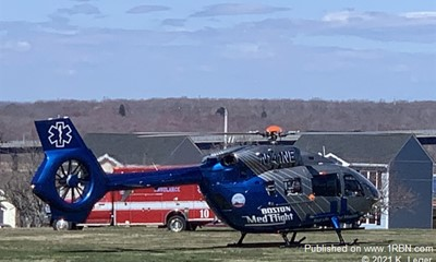 Boston Medflight LZ at Kennedy Park