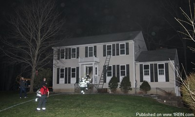 Kitchen Fire Damages Pelham Home