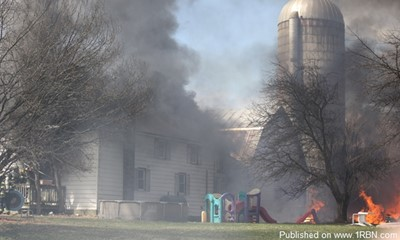 Firefighters Respond To Three Structure Fires At Same Location