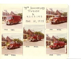 East Greenville Fire Co. 75th Anniversary Parade