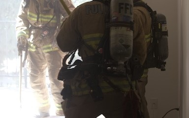 Accidental Fire Damages Apartment Building in Fullerton
