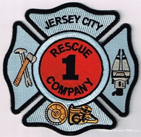 JERSEY CITY FIRE DEPARTMENT RESCUE 1