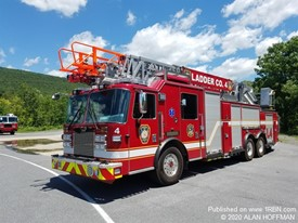 Greenville Fire Department Ladder 4