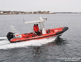 RIBCRAFT Delivers Fire Boat to the Portsmouth, NH Fire Department 