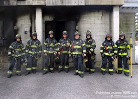 Reading Firefighter Recruits
