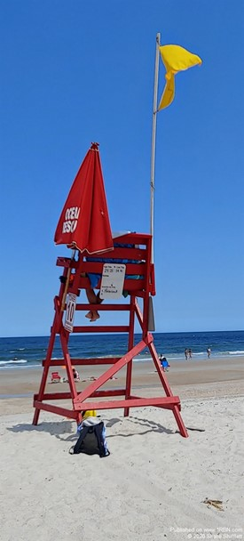 Fernandina Beach Life Guard post