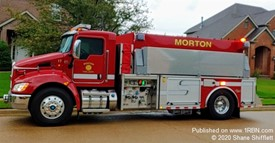 Morton Fire Department Tender