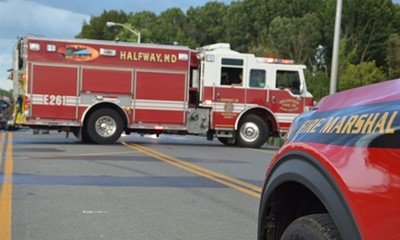 Crews Respond To Fiery MVC In Hagerstown