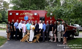 Plympton Fire Wedding