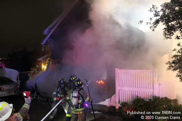 Early Morning House Fire In Wood Ridge