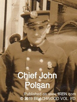 Beachwood FD Second Fire Chief, John Polsan