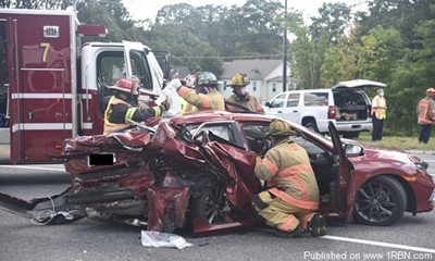Crash With Multiple Injuries in Essex, MD