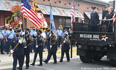 Mission BBQ Hosts 9-11 Remembrance Event In Owings Mills
