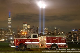 2020 WTC Tribute in Light Photo Shoot