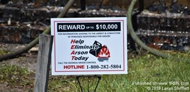 Macon-Bibb Arson Reward