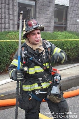 Hackensack Firefighter Mike Greco