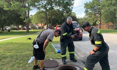 Pasco County Fire Rescue Pulls Teen from Storm Drain