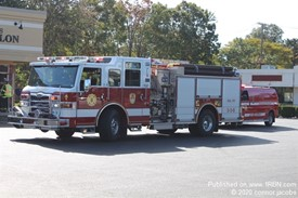 Brookhaven Fire Department Engine 8 Operating At A Afa