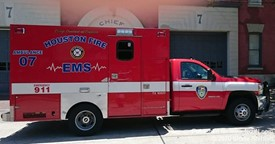 Houston EMS Ambulance 7