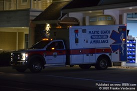 Mastic Beach ambulance 17