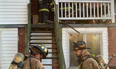 Four Structure Fires in One Day for DC Fire and EMS