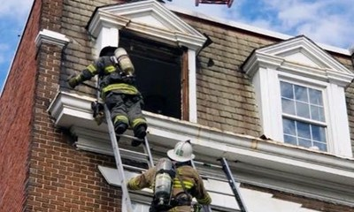 DC Fire and EMS Battle Garage & House Fire on Same Day