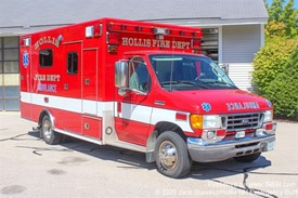 Hollis FD Former Ambulance 2